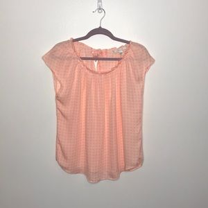 LC Lauren Conrad size large pink top